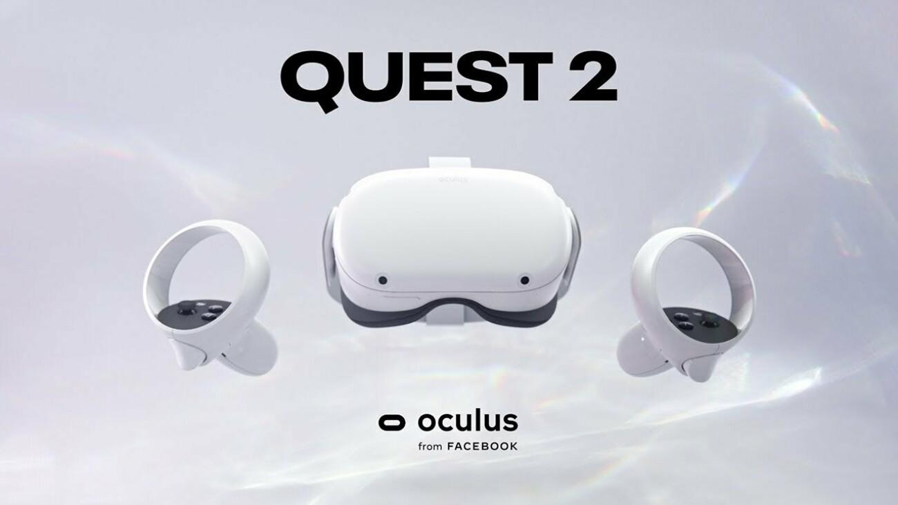 Oculus Quest 2 официально представлен по цене 299 долларов