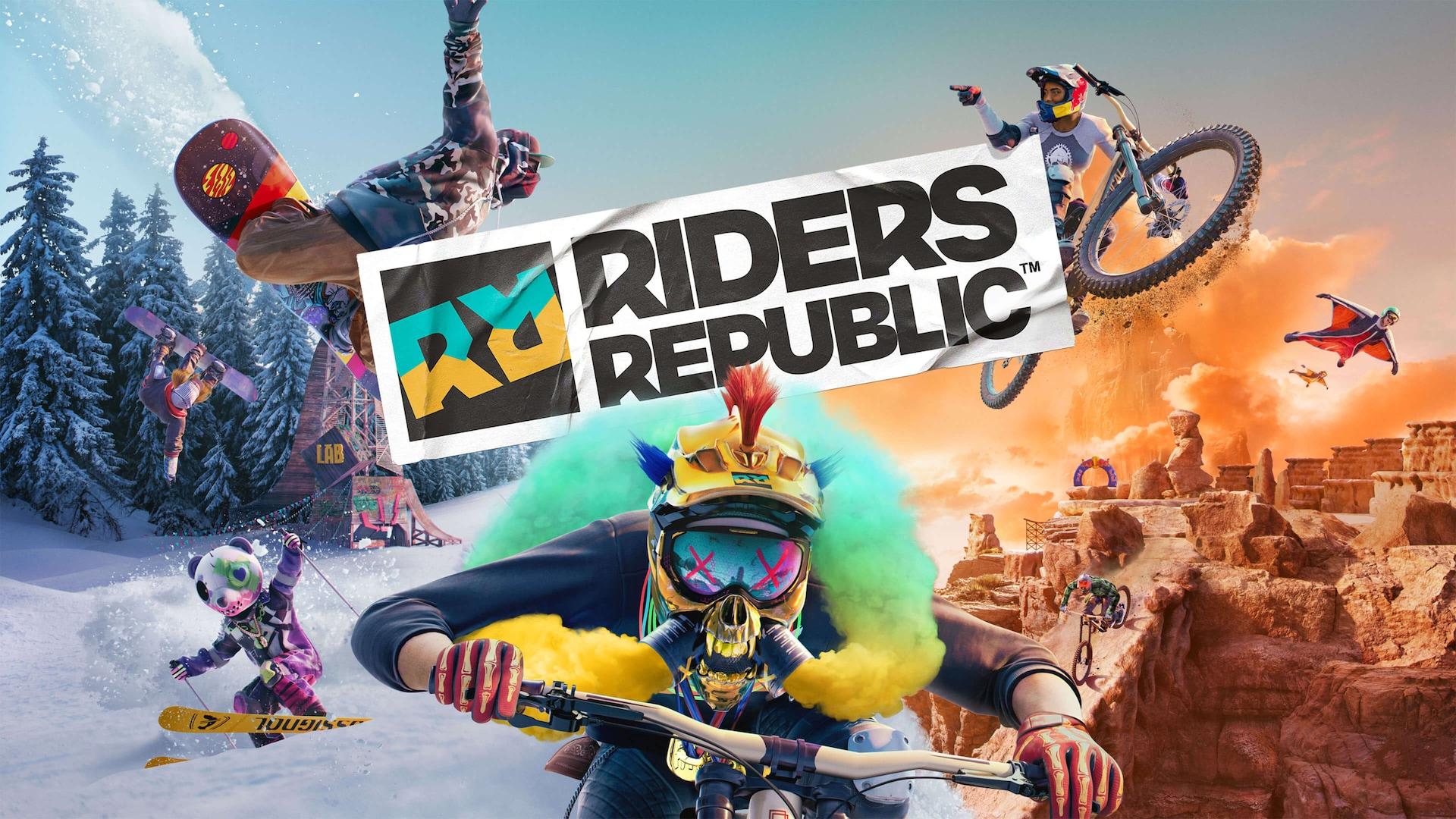 Riders Republic на 50 игроков в экстремальных видах спорта появится в феврале
