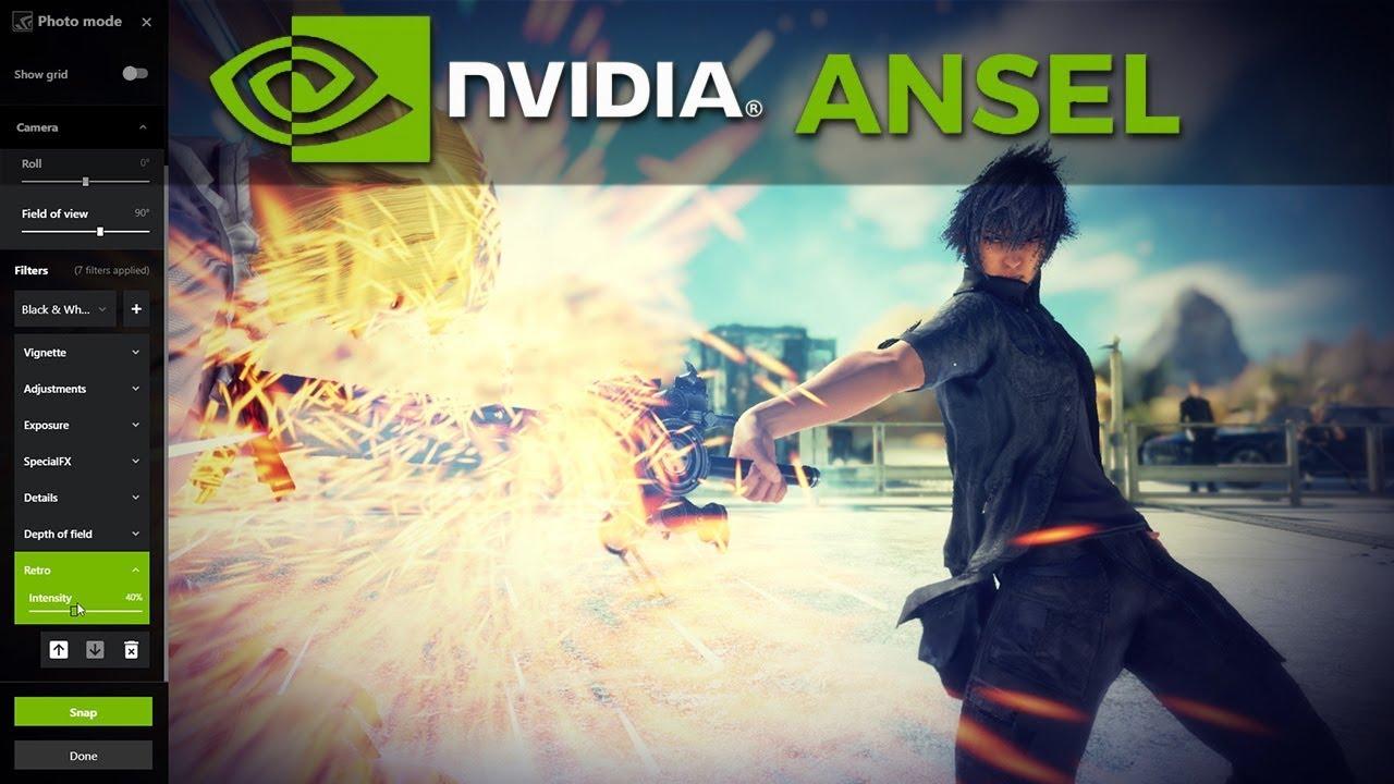 Nvidia представила инструмент захвата экрана Ansel в GeForce Now