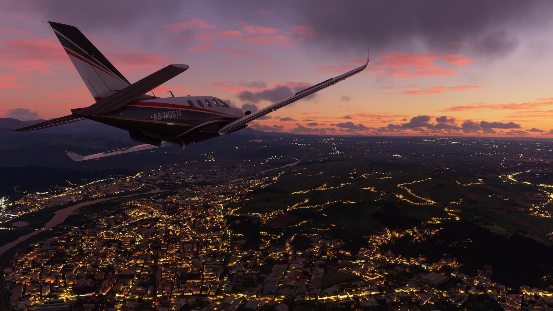 Первое крупное обновление Microsoft Flight Simulator уже доступно
