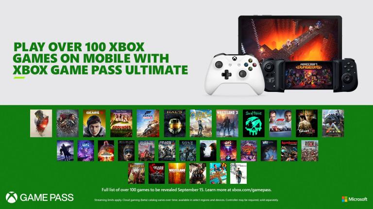 Xbox Game Pass Ultimate запускает в облаке около 150 игр