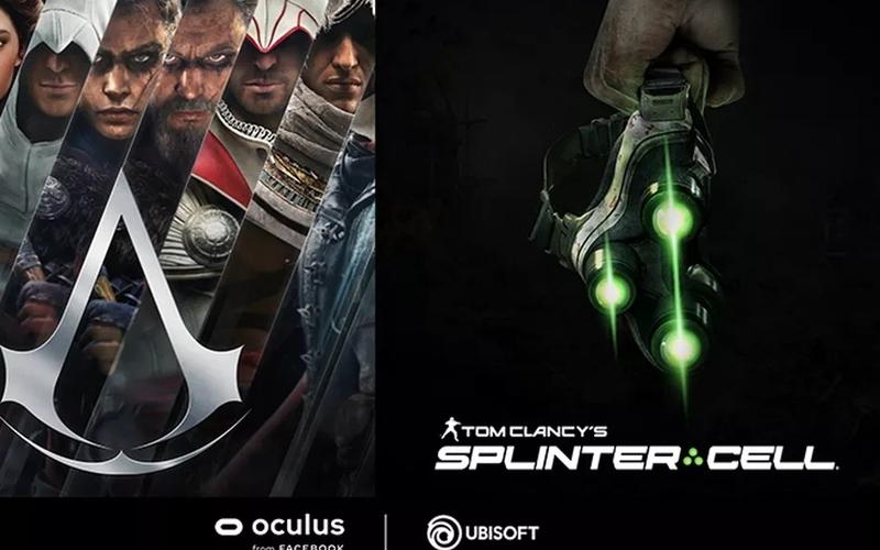 Скоро выйдут VR Assassin's Creed и Splinter Cell