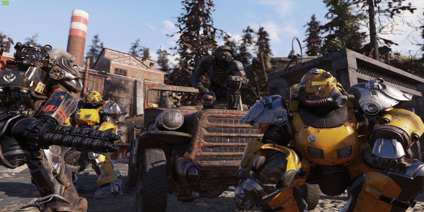 Обновление Fallout 76 Steel Dawn позволит игрокам строить подземные базы