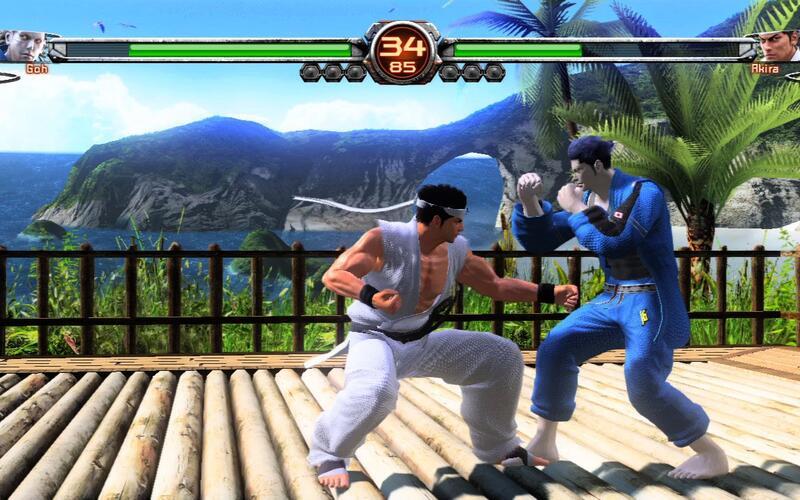 Sega показала тизер Virtua Fighter Esports