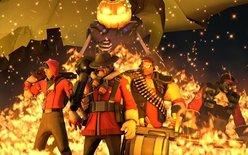 Для Team Fortress 2 выпустят обновление в честь Хэллоуина с четырьмя новыми картами