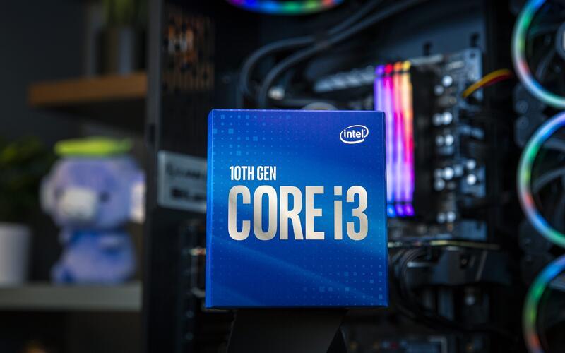 Intel представила новую модель в линейке процессоров Comet Lake-S 10-го поколения - Core i3-10100F
