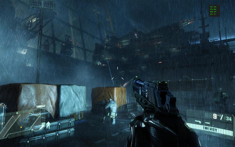На видеопамяти GeForce RTX 3090 можно установить и запустить Crysis 3