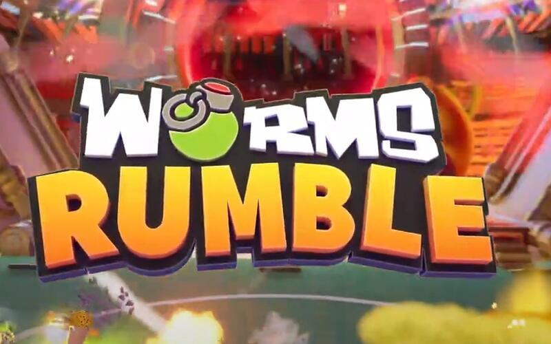 Новый трейлер для Worms Rumble анонсировал дату релиза игры
