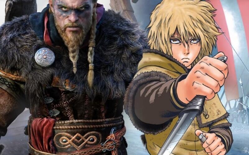 Ubisoft аннонсировали кроссовер популярной манги Vinland Saga и Assassin's Creed: Valhalla