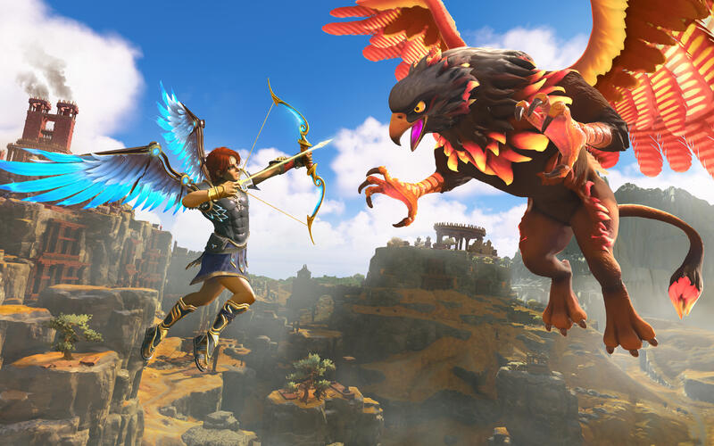 Ubisoft познакомили мир с гейплеем Immortals Fenyx Rising