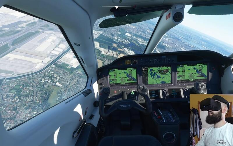 В Microsoft Flight Simulator скоро начнется закрытое тестирование VR