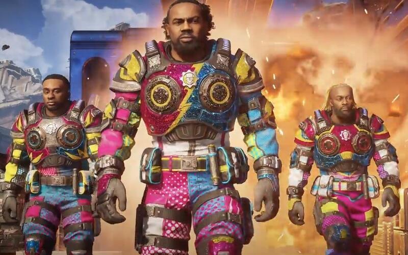 Gears 5 добавили в качестве игровых персонажей трио The New Day