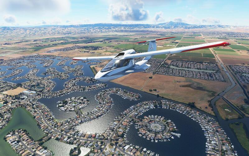Информация по следующему обновлению Microsoft Flight Simulator