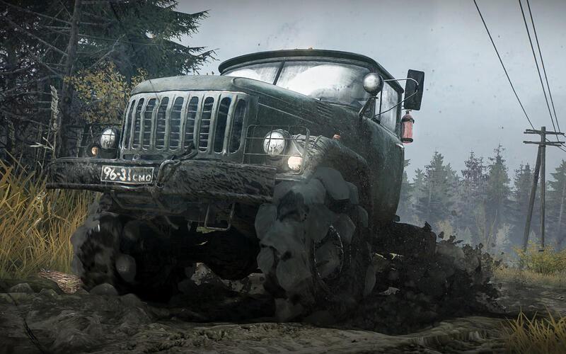 MudRunner доступна бесплатно в Epic Games Store