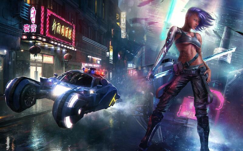 Мультиплеер Cyberpunk 2077 -  это больше, чем просто мод