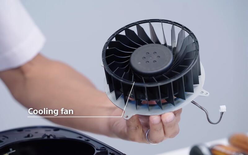 Некоторые консоли PS5 сделаны с более шумным вентилятором