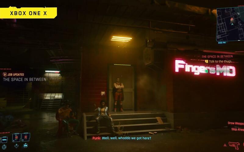Новое 10 минутное видео игрового процесса из Cyberpunk 2077