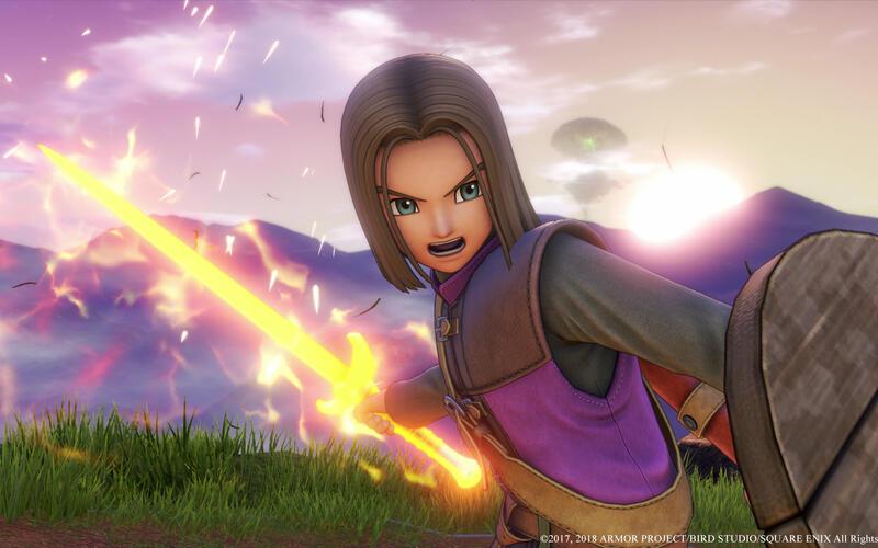Вышла 10-часовая демо-версия Dragon Quest XI: Definitive Edition для PS4, PC и Xbox One
