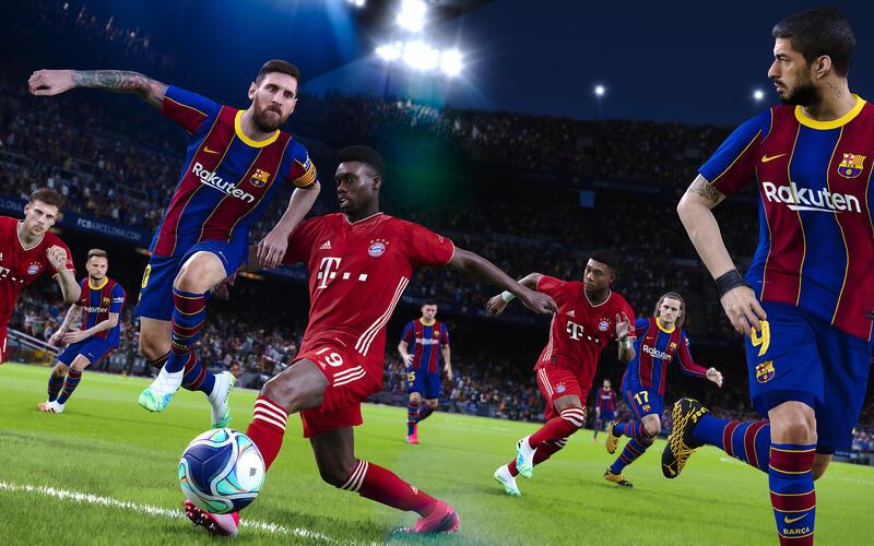 eFootball PES 2021 Lite теперь можно скачать в Steam совершенно бесплатно