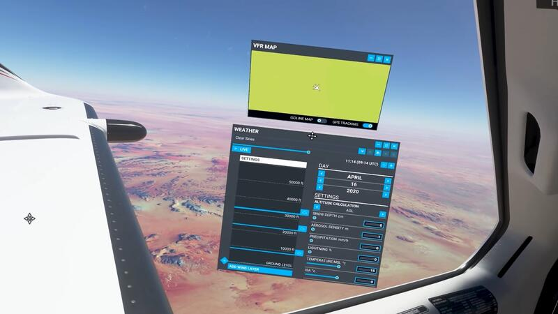 Новый трейлер Microsoft Flight Simulator демонстрирует режим виртуальной реальности