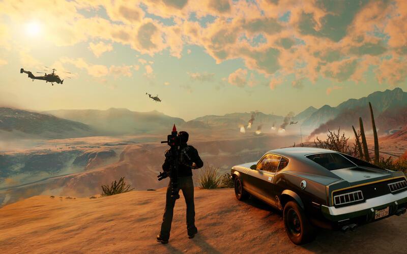 Разработчик Just Cause создает новую студию игр