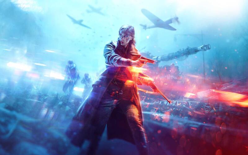 Сегодня вышло обновление 7.3 для Battlefield 5