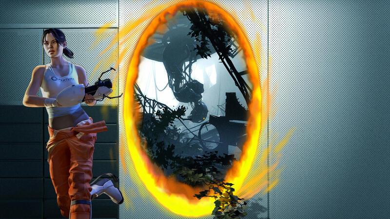 Тизер геймплея предстоящего мода Portal 2: Desolation
