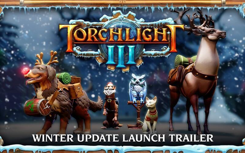 Torchlight III получает крупное обновление контента с новогодним настроением