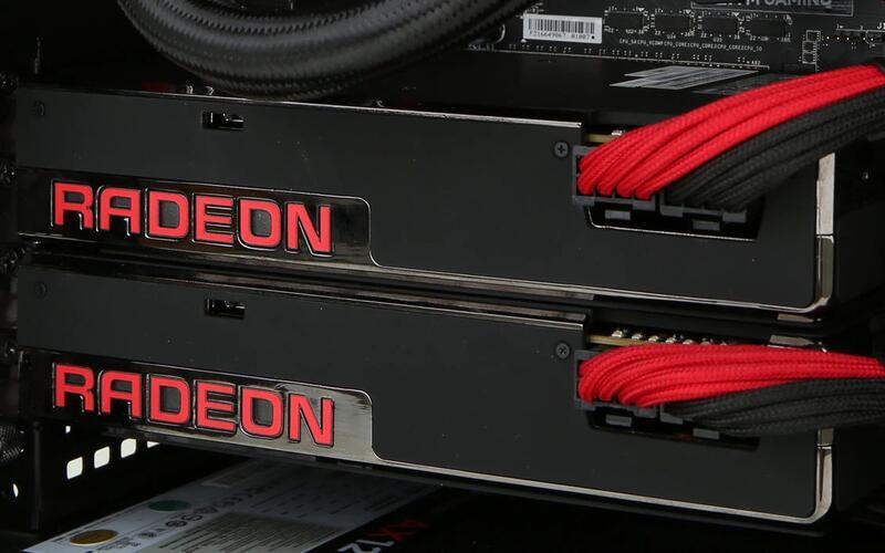 Видеокарты Radeon RX 6800XT протестированы в связке в некоторых играх