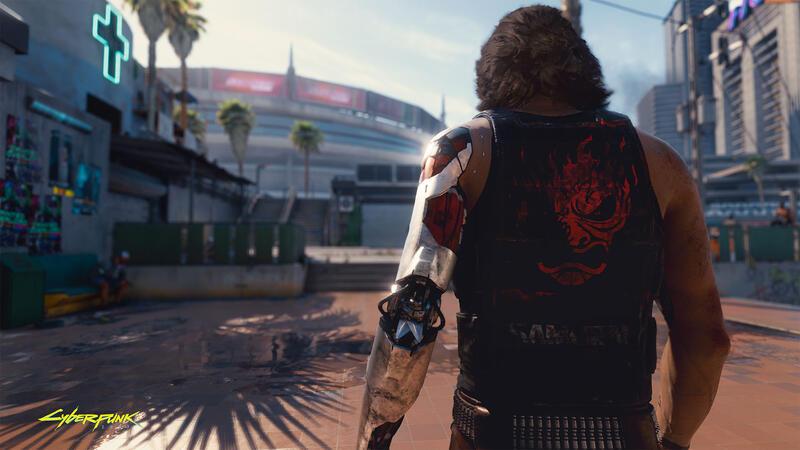 Вот как мог бы выглядеть Cyberpunk 2077 в режиме от третьего лица