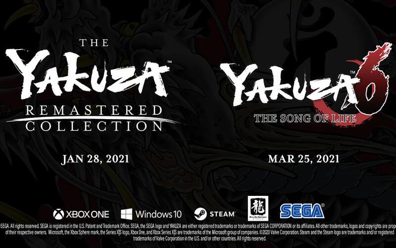 Yakuza Remastered Collection и Yakuza 6 официально выходят на ПК в начале следующего года