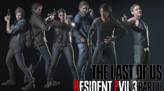 Интересный мод переносит основной состав персонажей The Last of Us 2 в Resident Evil 3 Remake