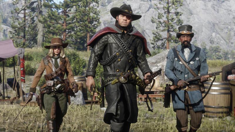 Первое обновление Red Dead Redemption 2 в 2021 году