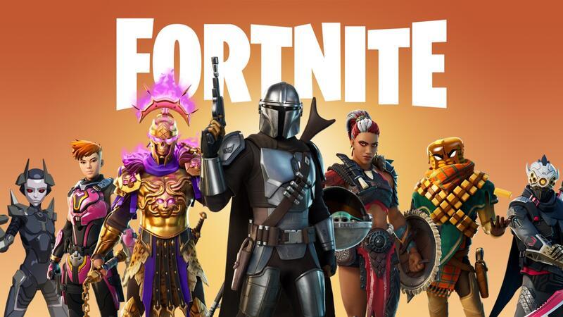 Появилось новое обновление для Fortnite