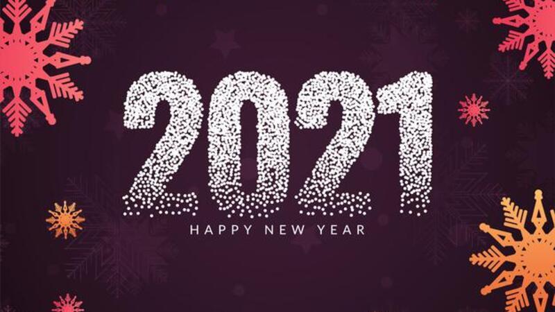 Поздравляем всех с Новым 2021 годом!