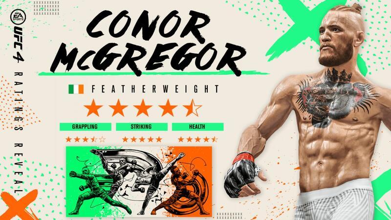 В UFC 4 вернулся Конор МакГрегор