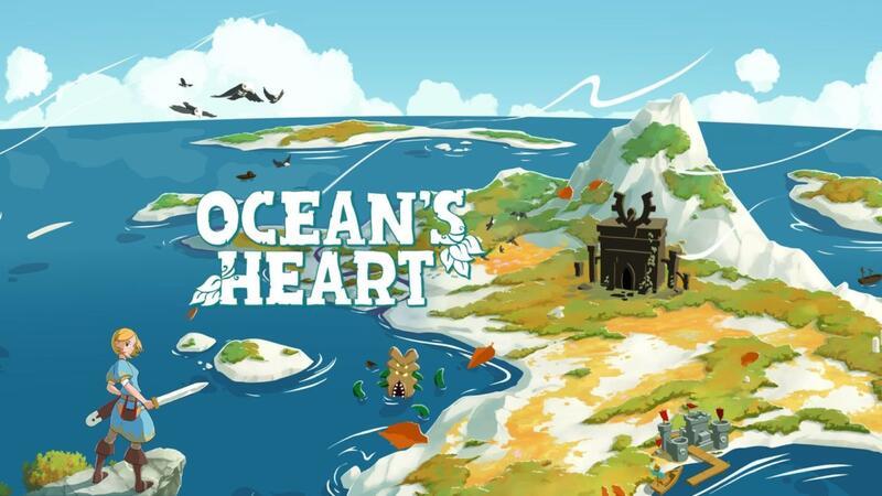 Вдохновленная Zelda пиксельная приключенческая ролевая игра Ocean's Heart теперь доступна на ПК