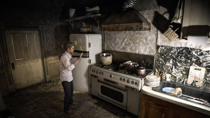 Вот как могла бы выглядеть Resident Evil 7 с фиксированными камерами