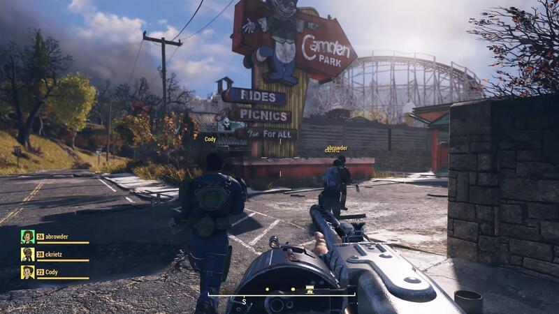 Вышло новое обновление Fallout 76