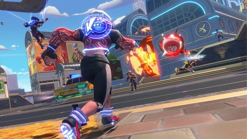 EA анонсировала новую командную игру в вышибалы - Knockout City