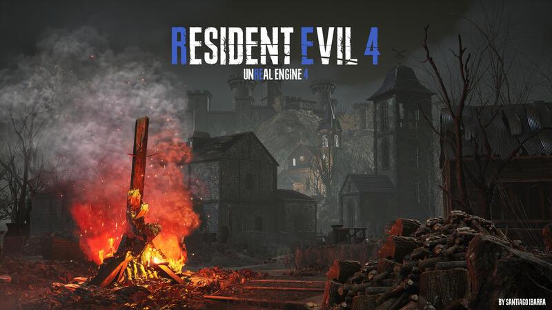 Фанаты сделали Resident Evil 4 Remake на движке Unreal Engine 4