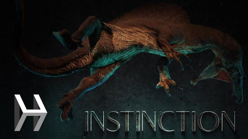 Instinction - это новая игра про динозавров на Unreal Engine 4 с трассировкой лучей