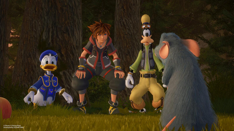 Kingdom Hearts 3 - системные требования к ПК