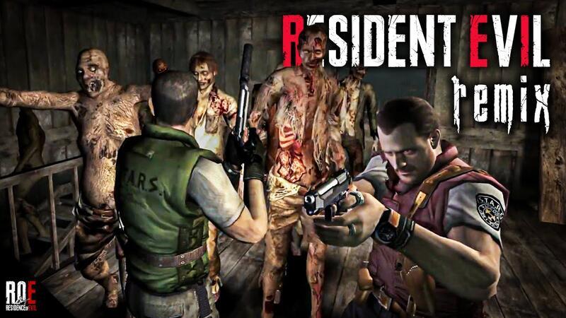 Моддер показал видео игрового процесса фанатского ремейка Resident Evil сделанного на Resident Evil 4
