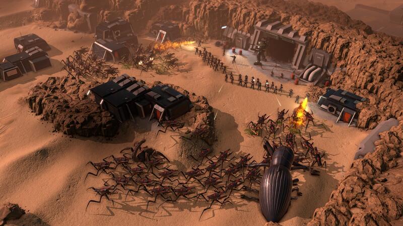 Новый игровой трейлер Starship Troopers - Terran Command