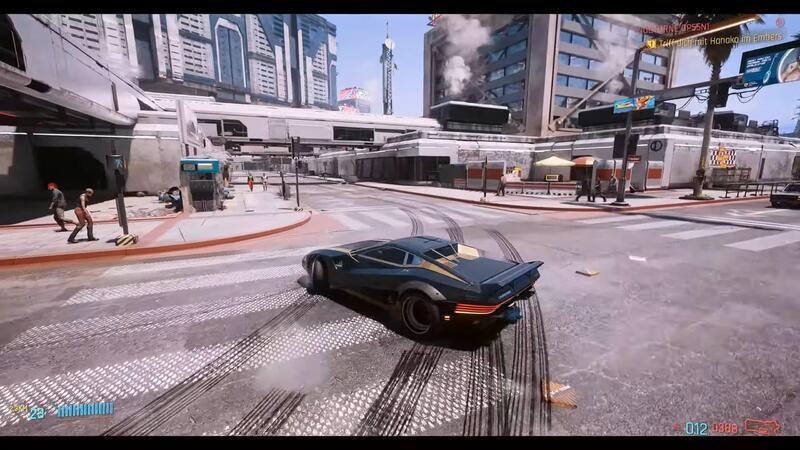 Новый мод для Cyberpunk 2077 делает вождение более реалистичным