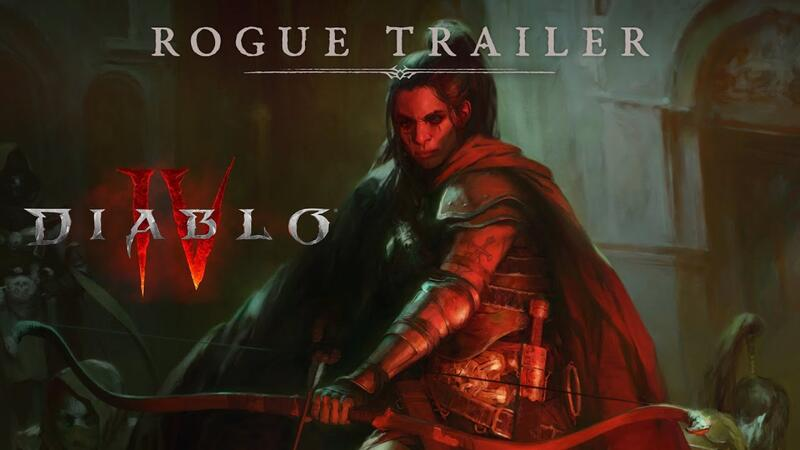 Новый трейлер Diablo 4 знакомит нас с классом Rogue