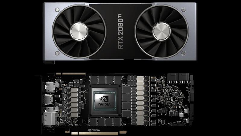 Nvidia GeForce RTX 2080 Ti после майнинга показывает более низкую производительность в играх
