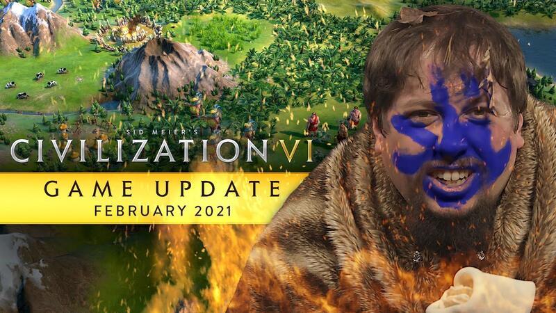 Очередное обновление Civilization VI выйдет 25 февраля