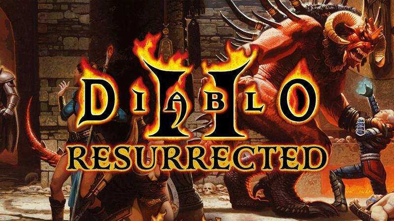 Первые подробности о ремастере Diablo 2 Resurrected